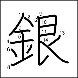 Kanji_al_dia_銀