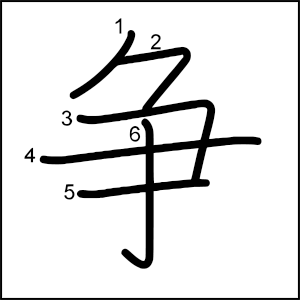 Kanji_al_dia_争